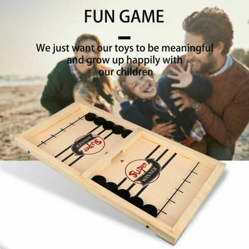 Fun for Kids Family Toy Child The Puck Game Set Rapid-Shot Tabletop Board Game