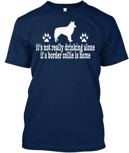 Grand Cadeau Anti Saint Valentin Border Collie propriétaire-Standard Unisexe T-Shirt