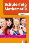 Schulerfolg Mathematik 7. Klasse von Ingo Wittrock (2011, Taschenbuch)