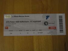 1899 Hoffenheim - FC Ingolstadt Ticket 27.10.2010 DFB Pokal