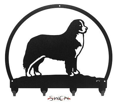 Bernese Mountain Dog Metal Key - Leash Hanger *NEW*