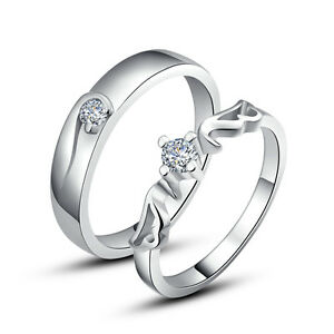 image is loading his amp hers rings couples promise rings wedding - Wedding Rings For Couples