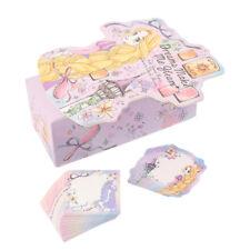 Disney Princess Mini Memo Jotter Pad Paper Ariel Rapunzel Stationery MADE JAPAN