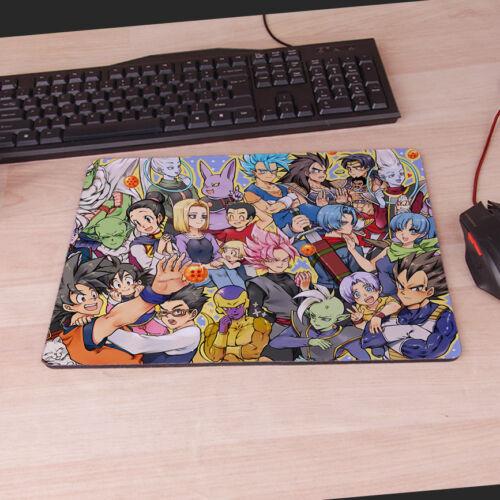 Neu Anime Son Goku Dragonball Mouse Pad Mat Gaming Mauspad Mousepad