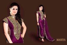 Ganga Stylish Designer Party Wear Fancy Salwar Gown Banarasi Suit