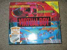 Nintendo Virtual Boy Red & Black Console (NTSC) NEW #VB1