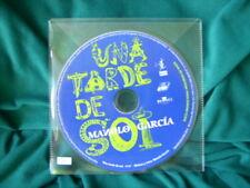 """MANOLO GARCIA """"UNA TARDE DE SOL"""" CD SINGLE 1 TRACKS EL ULTIMO DE LA FILA"""