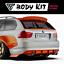 Rear-diffuser-BMW-E90-91-92-93-2004-2012 thumbnail 2