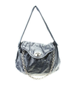 Marc-Jacobs-Posh-Turnlock-Chain-Blue-Patent-Leather-Shoulder-Bag