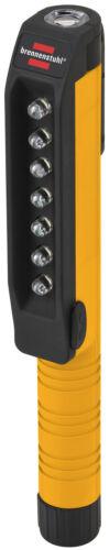 Taschenlampe Brennenstuhl 7+1 LED bis zu 6 Stunden mit Clip