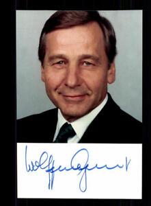 Wolfgang Clement Foto Original Signiert ## Bc 113575 Eine VollstäNdige Palette Von Spezifikationen Autogramme & Autographen Politik, Adel & Militär