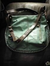 Chala Purse Handbag Hobo Cross Body Convertible Teal Schnauzer Dog Bag