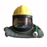 Pvc Abs Safety Sandblast Helmet Sand Blast Hood Protector For Sandblasting Tool