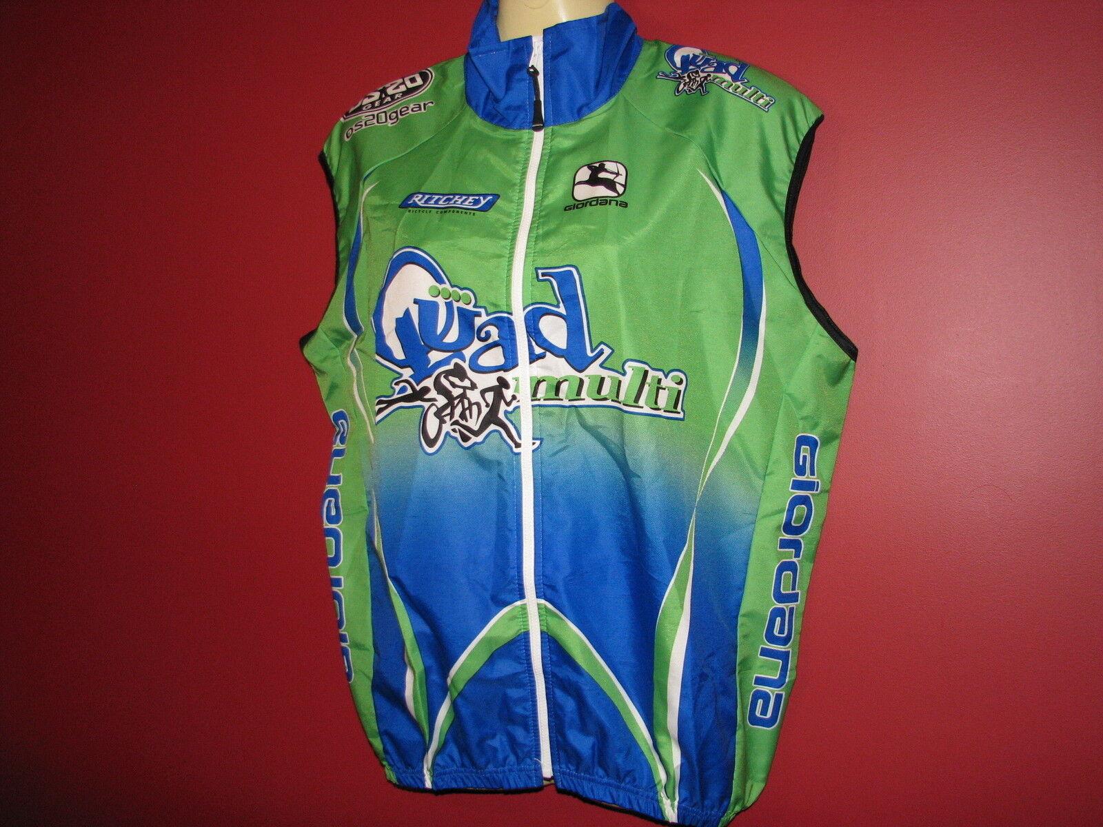 GIORDANA Women's GI-QUMS Cycling Wind Vest - Size Small - NWT