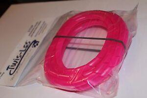 twis les electrical cord cover detangler hot pink ebay. Black Bedroom Furniture Sets. Home Design Ideas