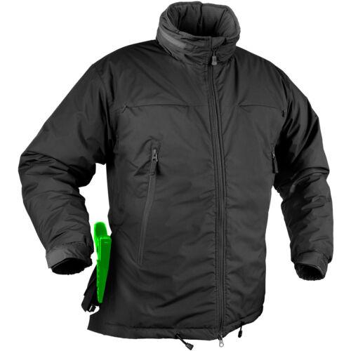 Helikon Husky Winter Tactical Security Operator Mens Warm Hooded Jacket Black