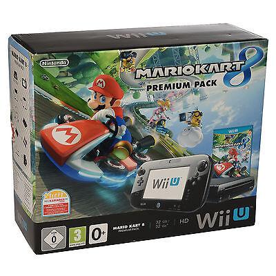 Nintendo Wii U Konsolen 32 GB   Mario Kart 8  Zelda  Super Mario Maker OVP