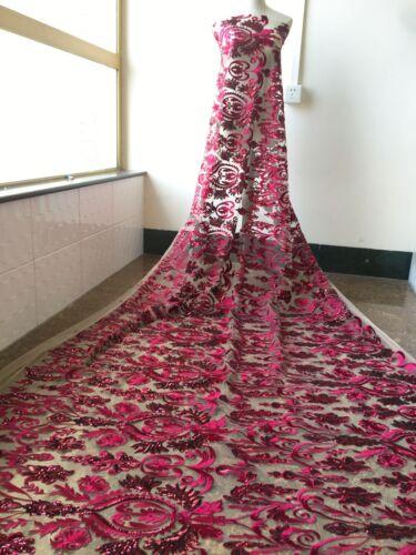 12 Farbe Stickereien Brautkleid Spitze Blüte Perlen Hochzeit Kostüm Stoff 1
