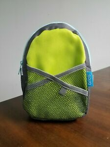 Green BRICA By-My-Side Safety Harness with Backpack
