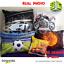 Gift ✅ 3D Bedding Set Effect Print Duvet Quilt Cover Blue Car Single Double NS