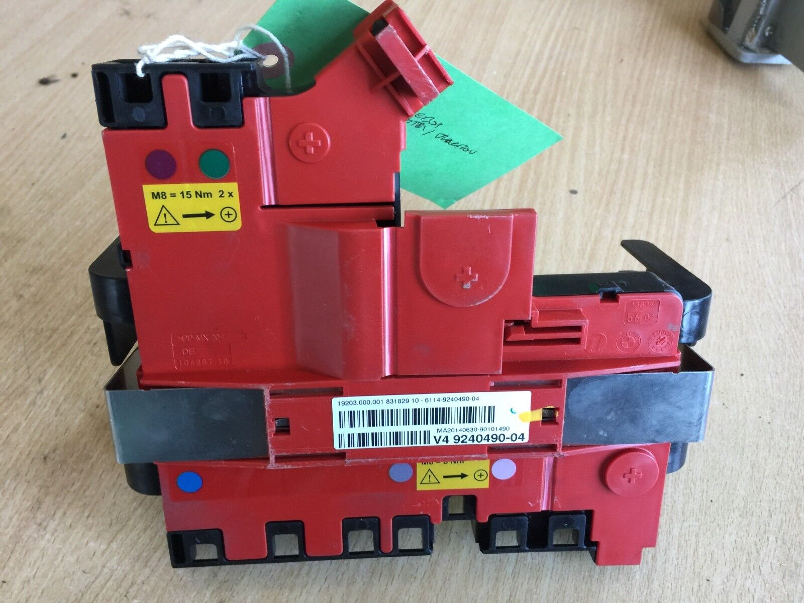 2014 Bmw 5 Series F10 Rear Battery Distribution Unit 9240490 03 M6 Fuse Box Norton Secured Powered By Verisign