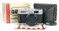 In Box Quartz 35mm Film Camera 50mm F/6 Glass Lens Plastic/toy/lomo Case