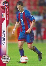 N°169 TXOMIN NAGORE ARBIZU # LEVANTE.UD CARD PANINI MEGACRACKS LIGA 2007