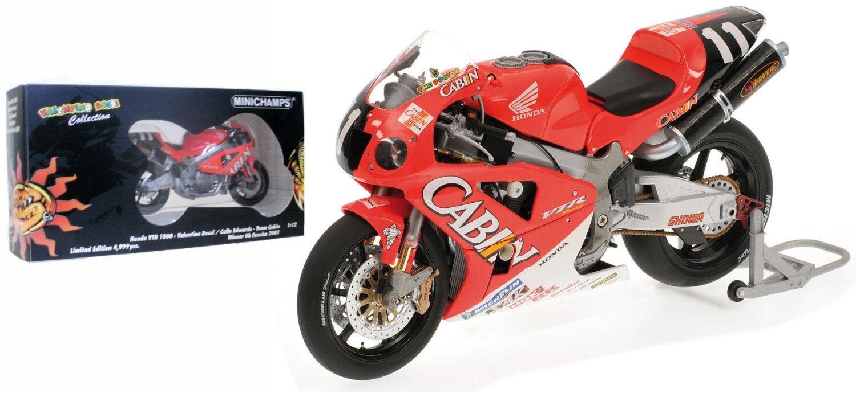 Minichamps Minichamps Minichamps Honda VTR 1000 Winner 8 H disparaitra 2001-Rossi/Edwards 1/12 scale | Offre Spéciale  | Stocker  | Bien Connu Pour Sa Fine Qualité  b9c0b9