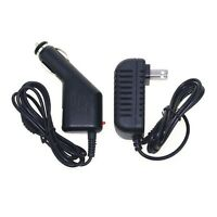 5v 2a (2000ma) Dc Car Charger & Ac Home Wall Charger For Hkc Tablet Pc P771a