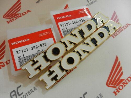 L Fuel tank emblem right left Honda CB 750 four k1 CB 500 k2 tankemblem r