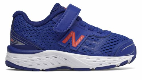 New Balance Kid/'s 680V5 Infant Boys Shoes Blue With Orange