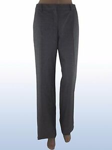 max-mara-i-blues-donna-pantalone-grigio-taglia-it-42-uk-10-de-36-w-28-bootcut