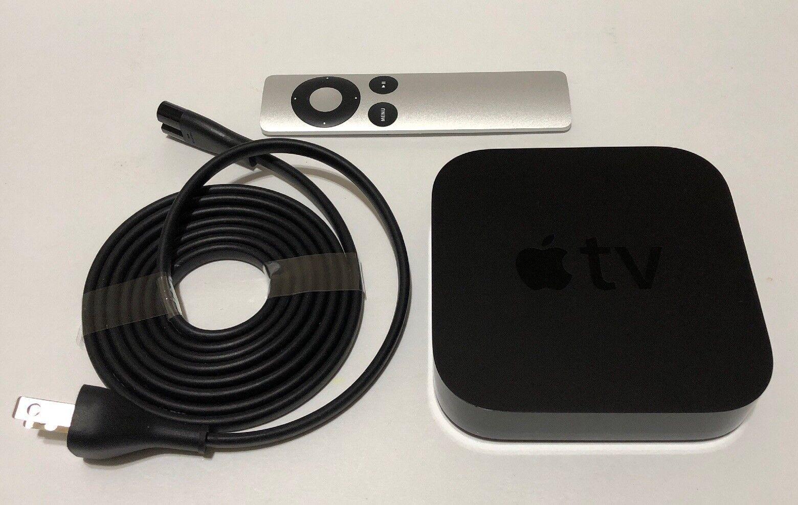Apple TV (3rd Generation) Smart Media Streaming Player with original remote apple media original player remote smart streaming with