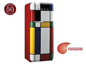 Smeg Kühlschrank Italia : KÜhlschrank einzeltÜr 60cm scharnier rechts multicolor fab28rdmc