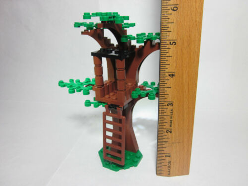 LEGO custom forest tree house with green leaves FREE U.S Ship! new parts