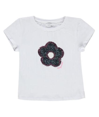 Königsmühle® Mädchen T-Shirt Wende-Pailletten Streichel-Blume  92-140 S 2018 NEU