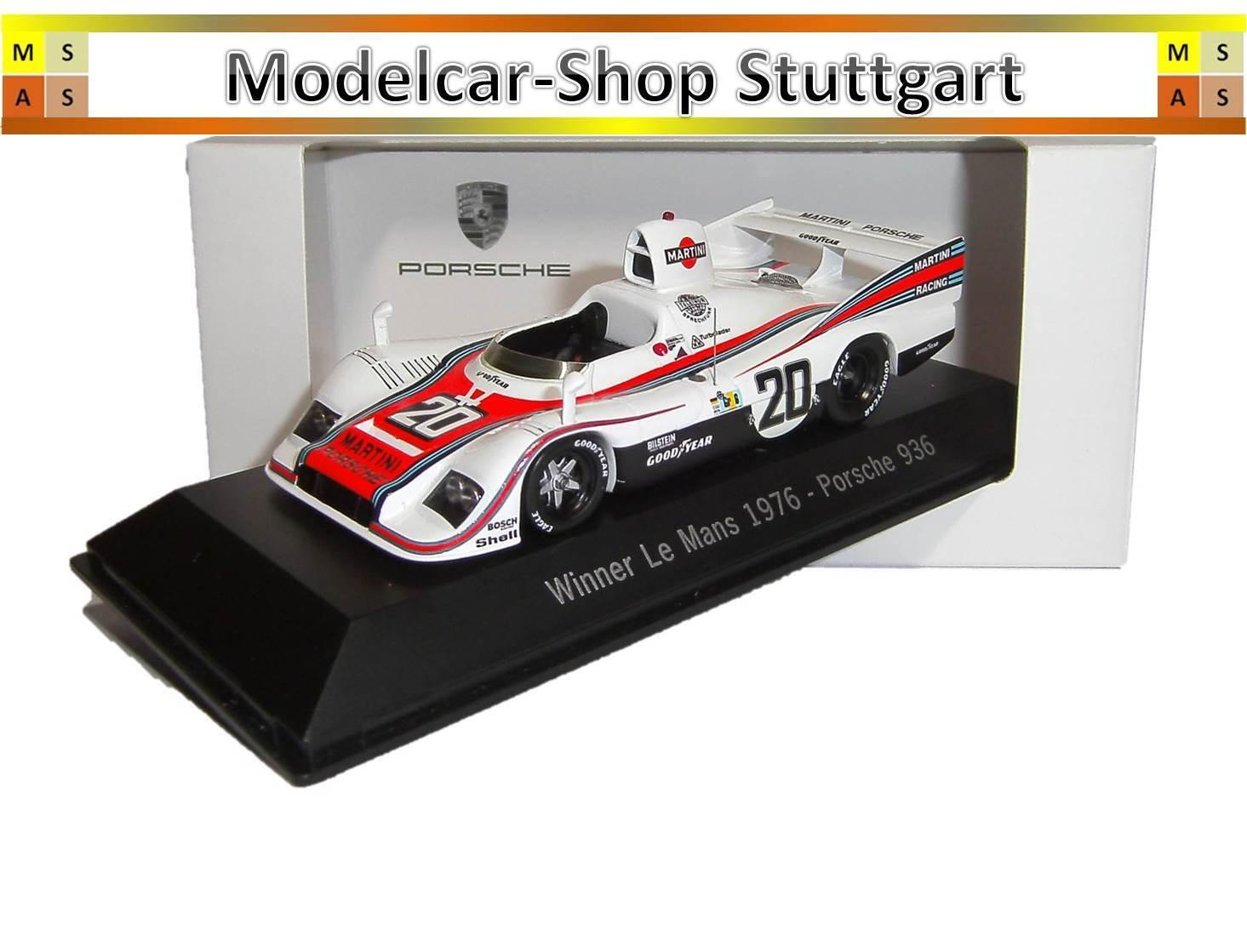 Porsche 936 Martini Winner Winner Winner 24 H Le Mans 1976 Spark 1 43 map02027613 NEW 7c3be7
