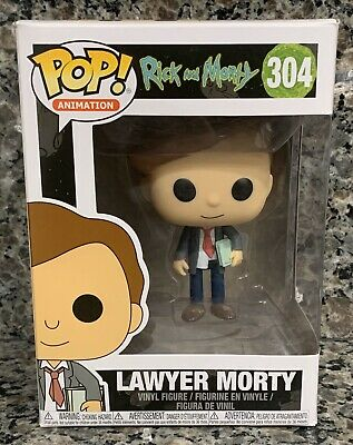 Lawyer Morty #304 Pop Rick And Morty Animation