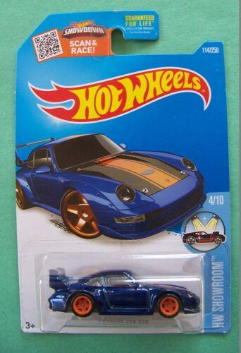 2016 Hot Wheels Super Treasure Hunt Porsche 993 GT2 #114 Choice Lot