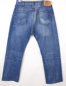 Levi's Strauss & Co Hommes 501 Jeans Jambe Droite Taille W38 L30 BBZ546