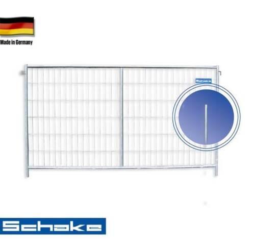 "verwindungssteif Bauzaun /""Profi/"" H x B 2 x 3,5 m Mobilzaun extra starker Rahmen"