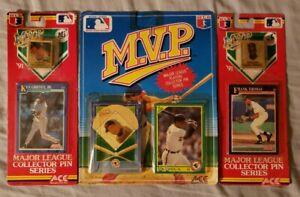 MVP-Baseball-Collector-Pins-Cards-Ken-Griffey-Jr-Frank-Thomas-Cal-Ripken-Jr