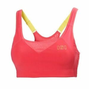 d4f056e4eab2e HELLY HANSEN 48234 W MAX SUPPORT ADJUSTABLE SPORTS BRA CORAL XS-S ...