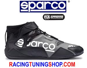 new style fb678 7bff6 Dettagli su SCARPE SPARCO OMOLOGATE FIA APEX 2018 - SPARCO RACING SHOES TG  43 NERO BIANCO