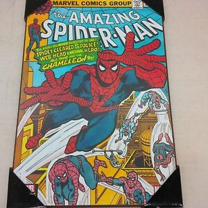 Details About Marvel Comics The Amazing Spider Man Wooden Wall Art Decor 13 X19 New