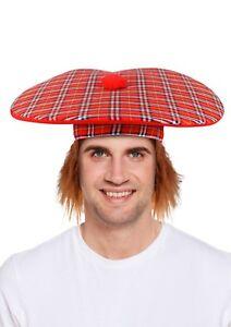 CAPPELLO TARTAN /& Ginger CAPELLI Scotsman FANCY DRESS