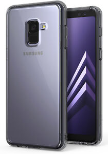 huge discount 71e0d a61a5 Details about Samsung Galaxy A8 Plus 2018 Case, Ringke [FUSION] Crystal PC  Back TPU Bumper