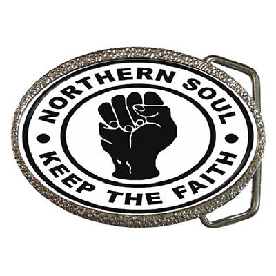 """""""soul Northern Keep The"""" Fibbia Della Cintura Faith-fantastico Regalo Articolo-mostra Il Titolo Originale Aspetto Bello"""