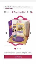American Girl Fashion Show Paper Doll Set New Great for Party Favors F7307-New