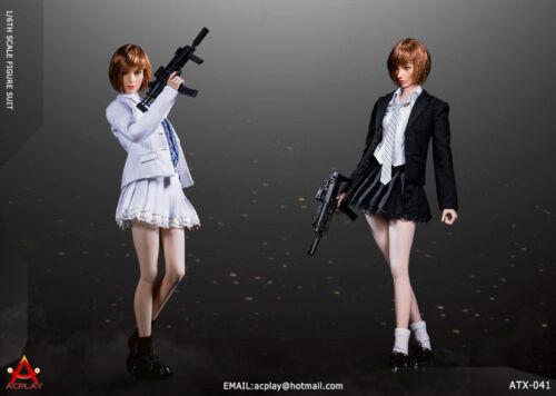 "ACPLAY ATX041 1//6 Battle Girl Uniform Suit Clothes Fit 12/"" Female Figure Body"